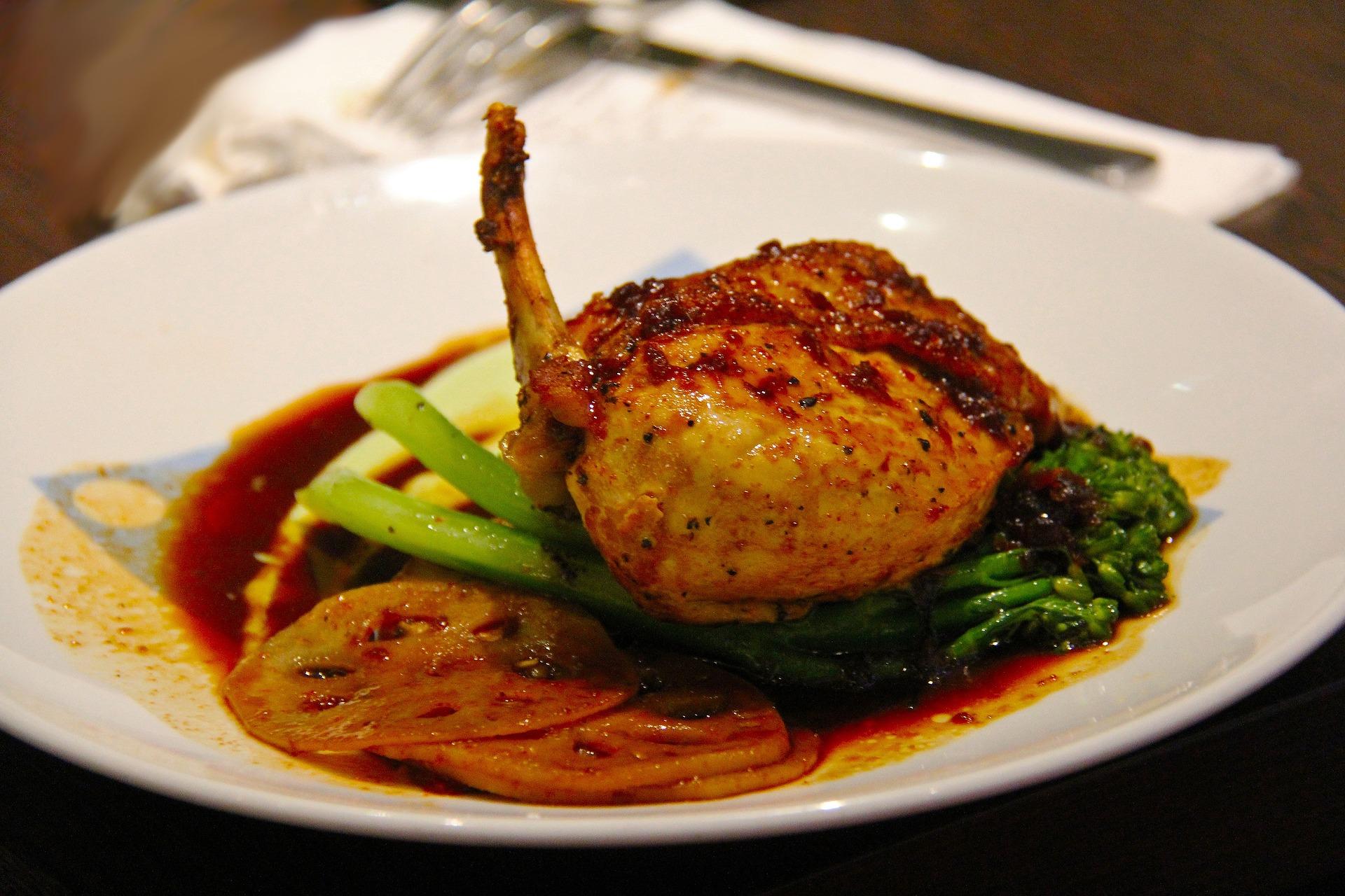 receta pollo relleno y asado
