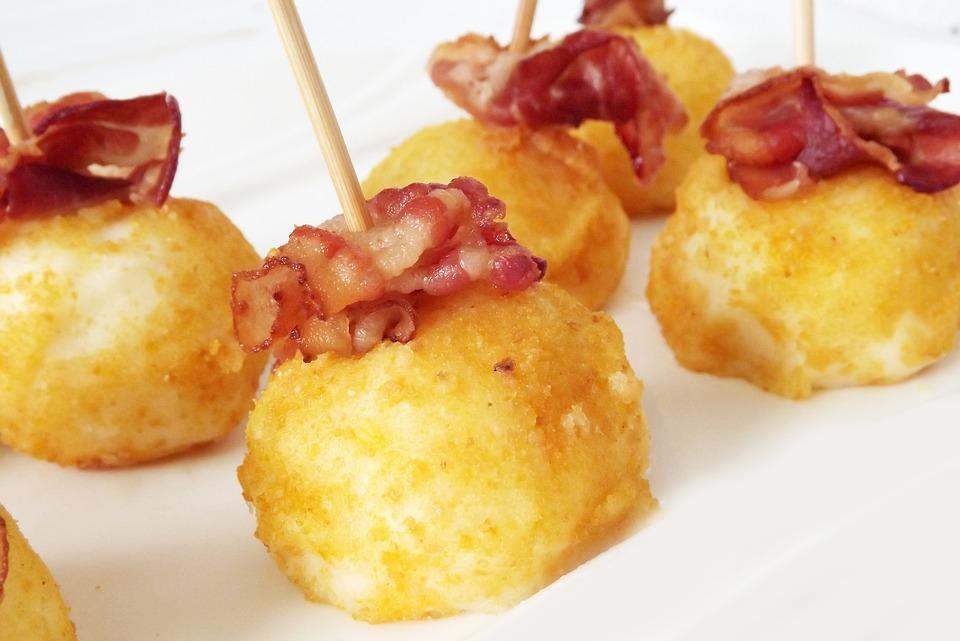 Croquetas de Pollo, Jamón y Huevo Cocido