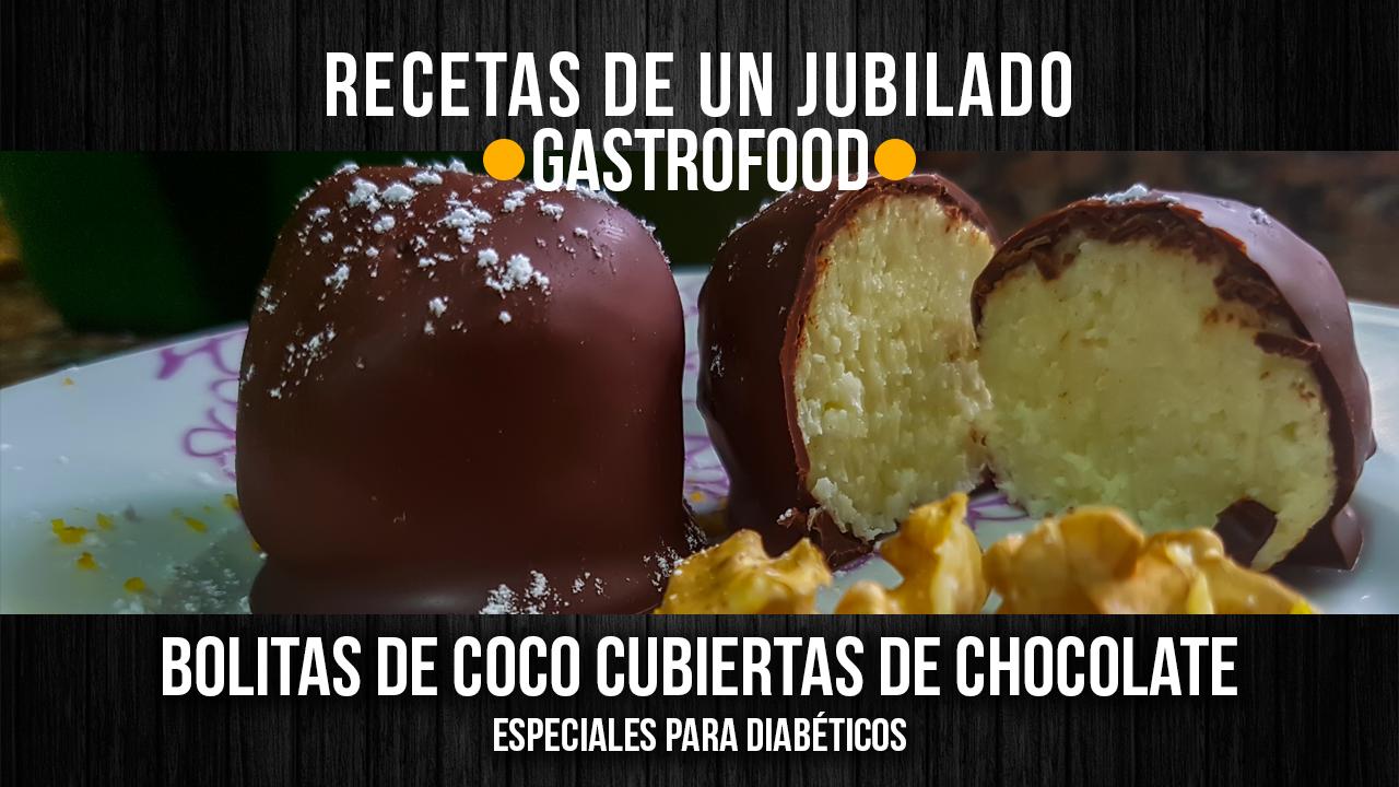 Bolitas de coco para diabéticos – VÍDEO